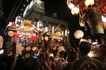 熊谷うちわ祭り 叩き合い